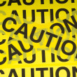 Caution Tape Background — Stock Photo #13625153