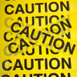 Caution Tape Background — Stock Photo #13625155