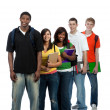 Stock Photo: Multicultural College Students