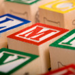 Alphabet Blocks — Stock Photo #13626213