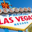 Welcome to Las Vegas Nevada sign on a sunny afternoon — Stockfoto #13626428