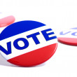 """Vote"" Buttons — Stock Photo #13629173"