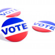 """Vote"" Buttons — Stock Photo"