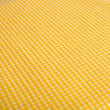 Yellow Gingham Background — Stock Photo
