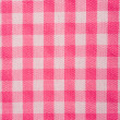Pink Gingham Background — Stock Photo