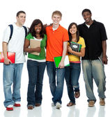 Multicultural College Students — Foto Stock