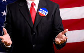 Politician — Stock Photo