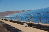 A solar power plant in the California Desert — Stock Photo