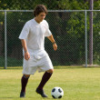 Soccer - Football  Player Dribbling — Stock Photo