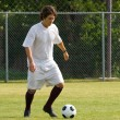 Stock Photo: Soccer - Football Player Dribbling