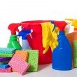 Spring Cleaning Supplies — Stock Photo #13630125