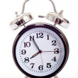 Foto Stock: Black Alarm Clock