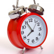 Red alarm Clock — Stock fotografie #13630260