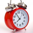 图库照片: Red alarm Clock