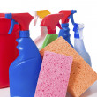 Spring Cleaning Supplies — Stock Photo #13632324
