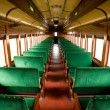 Antique Train Cabin — Stock Photo