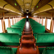 Antique Train Cabin - Stock Photo