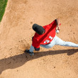 Stock Photo: Baseball Pitcher