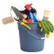 Spring Cleaning Supplies — Stock Photo #13632465