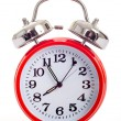 Foto Stock: Red alarm Clock