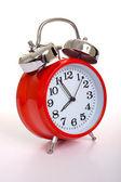 赤の目覚まし時計 — ストック写真