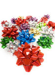 Christmas Bows Background — Stock Photo
