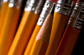 A pencil background — Stock Photo