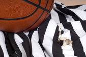 Basketball Referee Items — Stock Photo