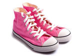 Pink Basketball Shoes — Foto de Stock