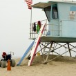 Life Guard Shack on Beach — Foto de Stock