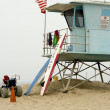 Life Guard Shack on Beach — ストック写真