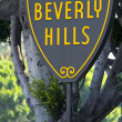 Beverly Hills Sign — Foto Stock