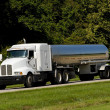 Fuel Tanker Transport Truck — Stock Photo