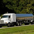 Stock Photo: Fuel Tanker Transport Truck