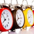 Alarm Clocks - Stock Photo