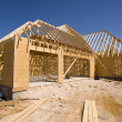New Home Construction — Stock Photo