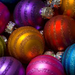 Christmas Baubles or Balls — Stockfoto