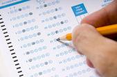 Taking an Examination or Test — Stock Photo