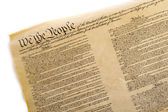 United States Constitution — Stock Photo