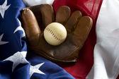 Classic Baseball Items — Stock Photo