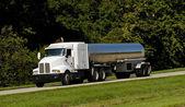 Fuel Tanker Transport Truck — Stock Photo