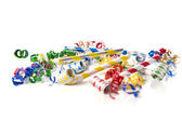 Party Noise Makers on White — Stock Photo
