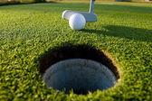 Golf Putt — Stock Photo