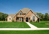 Bela casa ou casa — Fotografia Stock