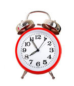 Red Alarm Clock — Stockfoto