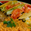 Stock Photo: Mexicfood plate