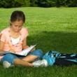 Young girl in park — Stock Photo #13929124