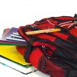Stock Photo: Backpack with supplies