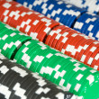 Poker Chip Background — Stockfoto