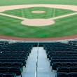 Stock Photo: Baseball Stadium